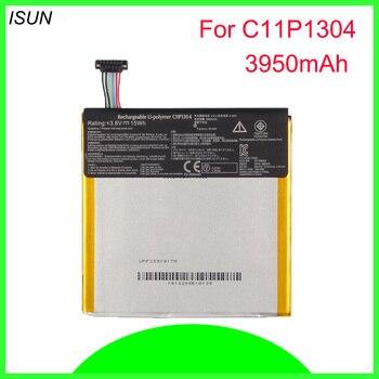 ISUNOO 10pcs/lot 15Wh C11P1304 Li-polymer battery for Asus Memo Pad Hd 7 Me173x K00b 3950mAh battery replacement