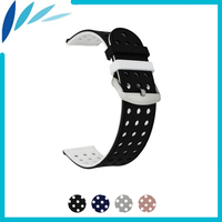 Silikon Gummi Uhr Band 20 m 22mm für Amazfit Huami Xiaomi Smart Armband Strap Gürtel Handgelenk Schleife Armband Schwarz grün Rot Rosa