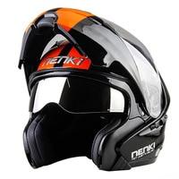 New Modular Motorcycle Helmet Flip Up Open Full Face Helmet Moto Casque Casco Motocicleta Capacete 815