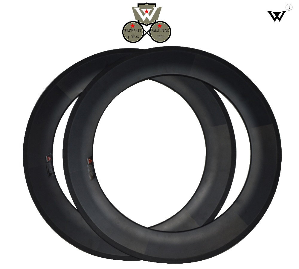 W carbon rims 88 mm,clincher rims road bike wheels,Size 700C,Rims width 20.6 mm,in stock,fast delivery,free shipping