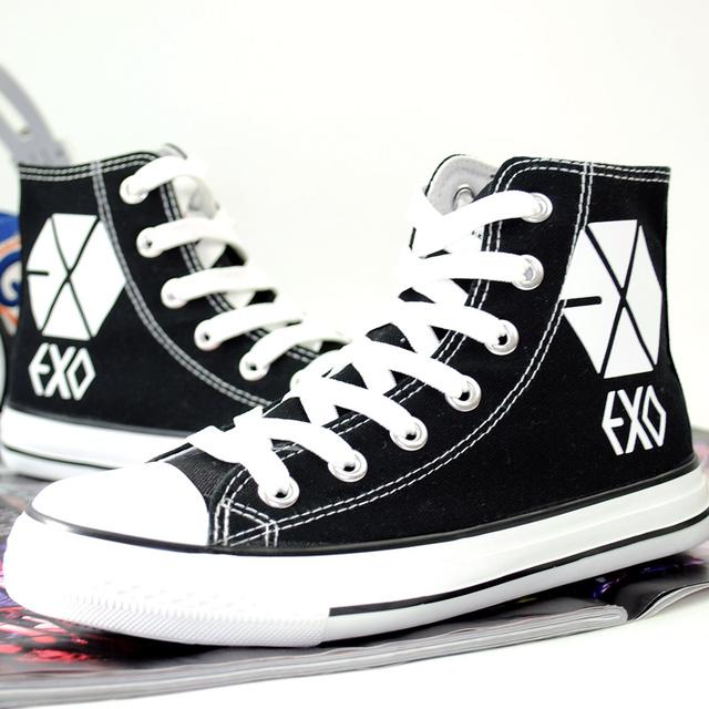 EXO LUMINOUS HIGH TOP SHOES