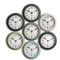 Simple Large Creative Living Room Clock Round Designer Wall Clocks Decorative Kitchen Wandklok Turntable Needles Clocks