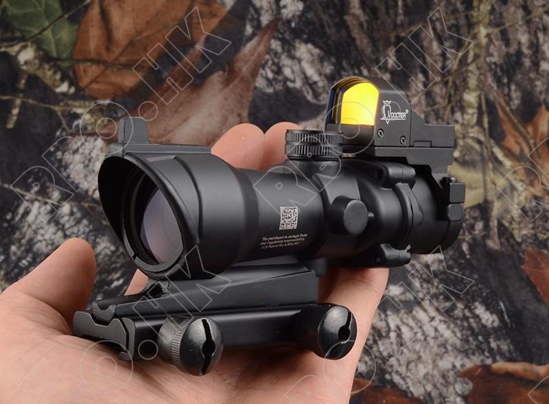 Tactical Trijicon acog style 4x32 portata Del Fucile e 1x docter red dot sight caccia tiro M2833 M7830Tactical Trijicon acog style 4x32 portata Del Fucile e 1x docter red dot sight caccia tiro M2833 M7830