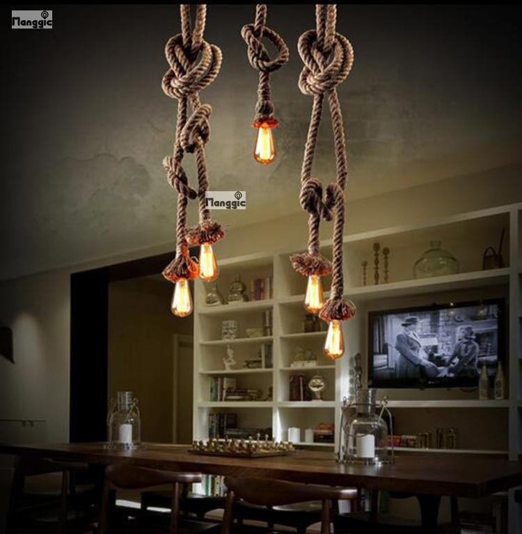 aliexpress retro dubbele hoofden touw hanger lichten