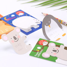 1PC Kawaii Convenience Stickers Memo Pad School Supplies Planner Stickers Paper Bookmarks Korean Stationery(China)