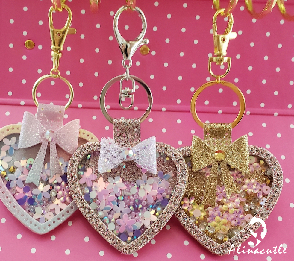 Die Cut Metal Cutting die keychain shaker Heart Paper Key Chain Alinacraft Scrapbook Paper Craft Card Punch Art Knife Cutter(China)