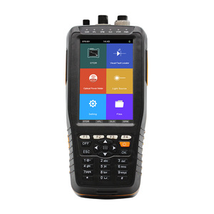 Image 2 - OTDR Tester Optical Time Domain Reflectometer 4 in 1 OPM OLS VFL Touch Screen 3m to 60km Range Optical Instrument fibra optica