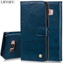 цена на Luxury protection PU leather case For Samsung Galaxy S3 S4 S5 S6 S7 S8 S9 S6 Edge S7 Edge S8 Plus S9 plus S4 Mini Case