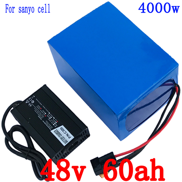 ברצינות 48V 60AH use for sanyo cell 48V 60AH electric bicycle battery 48V XB-06