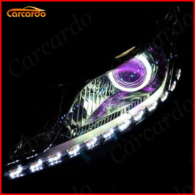 Carcardo 2PCS Reflektory samochodowe DIY Diabelskie oczy Zestaw - Światła samochodowe - Zdjęcie 4