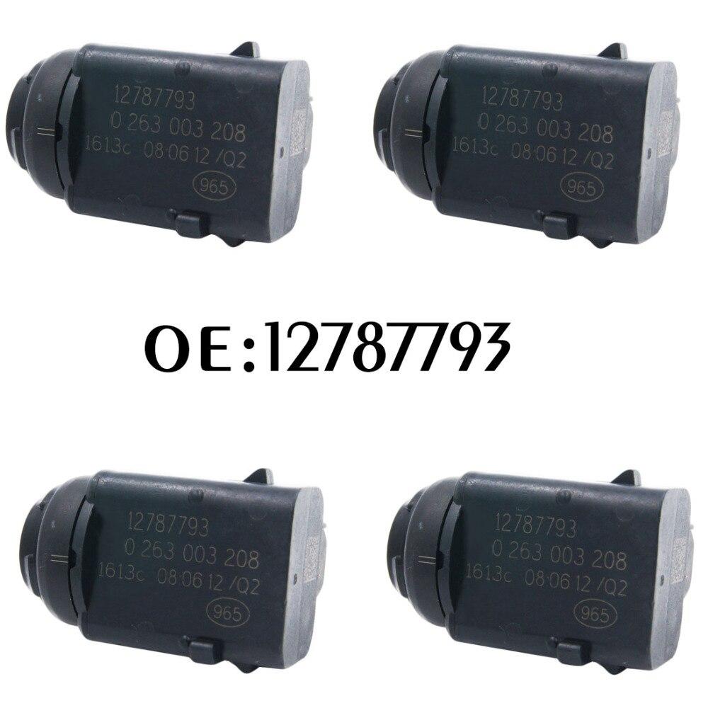 Neue 4 stücke Parkplatz Sensor PDC Reverse 12787793 0263003208 Einparkhilfe Für Opel Ford 0263003172 6238242 93172012 5HX08TZZAA