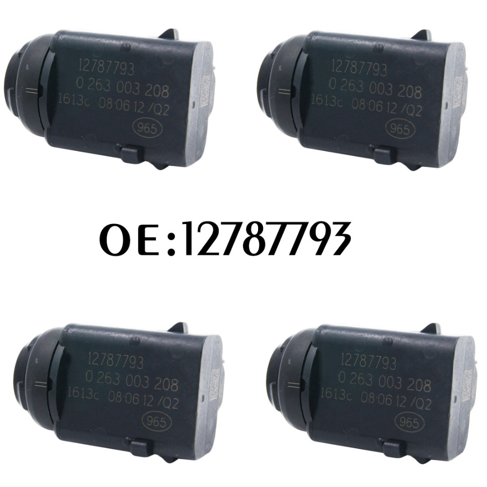 New 4pcs Parking Sensor PDC Reverse 12787793 0263003208 Parking Assistance For Opel Ford 0263003172 6238242 93172012 5HX08TZZAA цена
