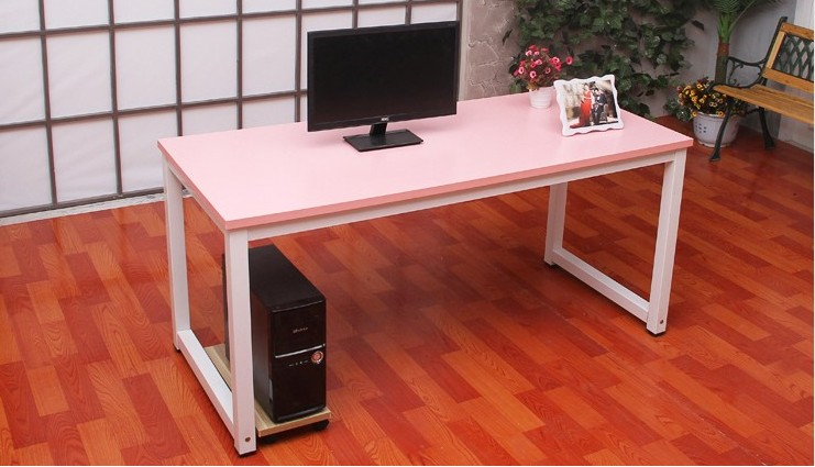 US $277.0 |Home desktop computer desk simple and stylish steel wooden  conference table on Aliexpress.com | Alibaba Group