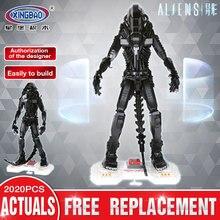 XingBao 04001 2020 Unids Genuino Película Creativa Serie Robot Alienígena Establece niños Educativos Bloques de Construcción de Ladrillos de Juguetes Modelo