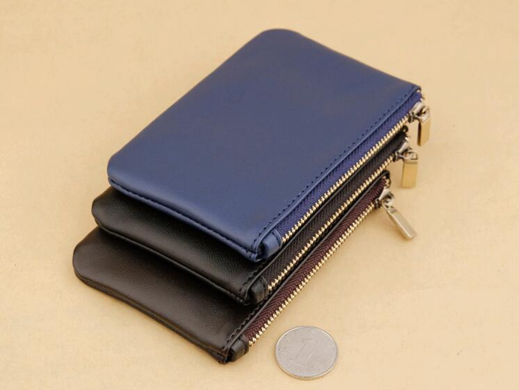 font b Hot b font selling Emarald new fashion genuine leather coin purse with dust
