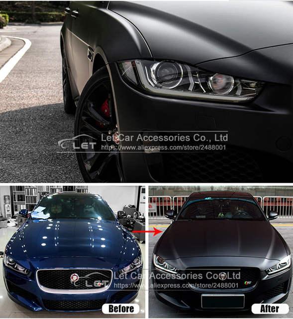 Online Shop Matt Matte Black Car Auto Body Sticker Decal Self