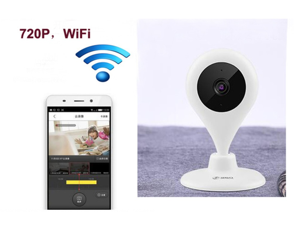 new Promotion Mini Wifi IP Camera Wireless 720P Smart P2P Baby Monitor Network CCTV Security Camera Home baby monitor