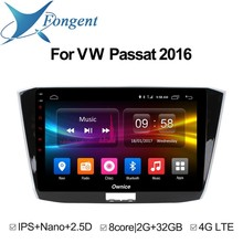 For Volkswagen Passat 2016 Android 8.1 Head Unit Car radio DVD Stereo Intelligent Multimedia Player TPMS gps Navigator Computer