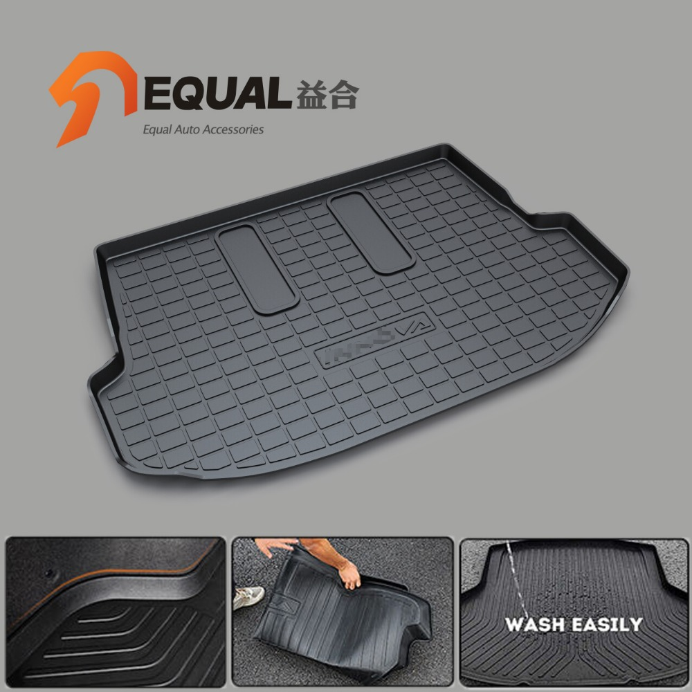 FIT FOR TOYOTA YARIS INNOVA FORTUNER ALTIS FJ Cruiser LAND CRUISER 4runner WIGO EZ Boot Liner Trunk Floor Cargo Tray Cappet Mats custom fit car trunk mats for nissan x trail fuga cefiro patrol y60 y61 p61 2008 2017 boot liner rear trunk cargo tray mats