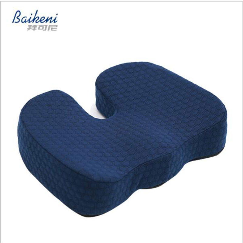 coccyx seat cushion car wedge office computer chair for back pain ergonomic pillow for sciatica relief new u0026 improved 20in cushion from home u0026 garden on