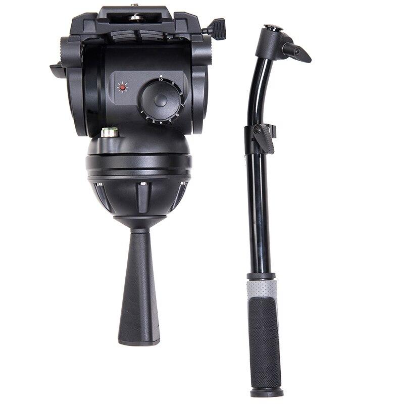 Miliboo M8 Filme Transmissão Fluido De Vídeo Profissional de Carga Cabeças 15 kg Heavy Duty Suporte Da Câmera Tripé com 100 milímetros Tigela