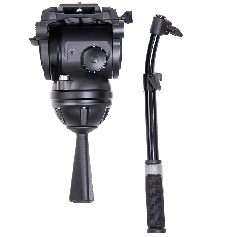 miliboo M8 Professional Broadcast Movie Video Fluid Heads Load 15 kg Heavy Duty Tripod Camera Stand with 100mm Bowl mz 2400fp 7 8 feet 240cm heavy duty cushioned premium black light stand for video portrait and product photography no00dc