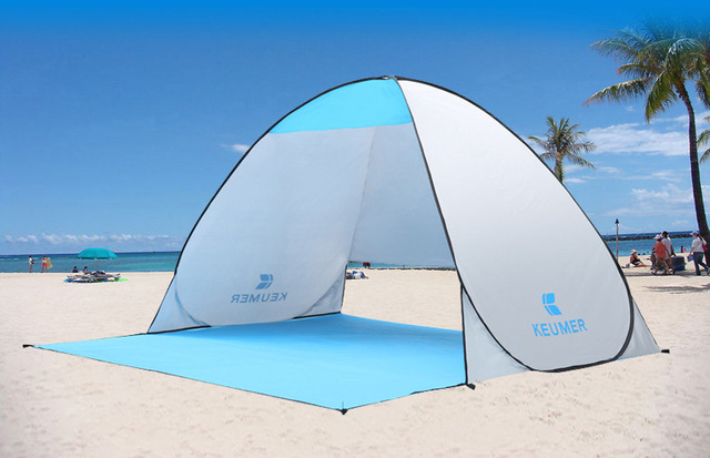 High Quality Pop Up Beach Tent Outdoor Automatic Simple Sun Shading