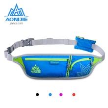 AONIJIE Nylon Running Waist Bag Women Men Ultralight Sports Bag Marathon Cycling Energy Gel Number Belt 6-inch Mobile Phone Bag