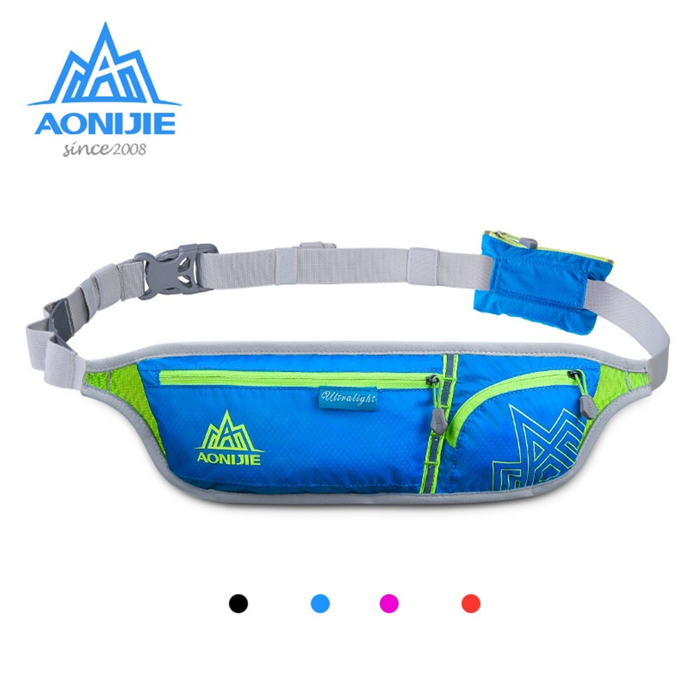 AONIJIE E916 Running Waist Pack Women Men Ultralight Sports Bag Marathon Cycling Energy Gel Number Belt 6-inch Mobile Phone Bag