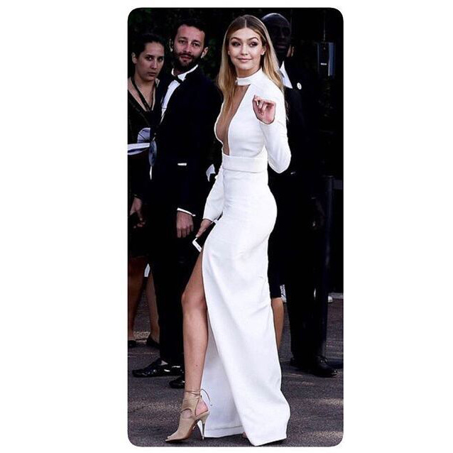 Popular White Long Gowns-Buy Cheap White Long Gowns lots from ...