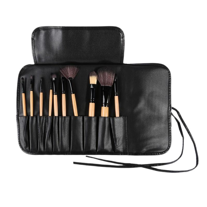10 Unids Kit del artículo de Tocador Maquillaje Pinceles Set & Accesorios de Paquete de Viaje Bolsa de Cosméticos de Maquillaje Cepillos Sets Herramientas EE4JH2