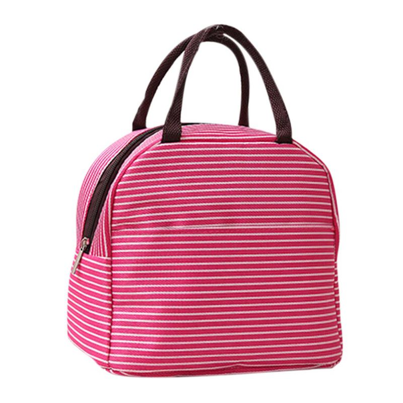New Portable bag Cooler Insulated Lunch Bag Thermal Food Picnic Lunch Bags for Women Kids Men Cooler Lunch Box Bag Tote 2017