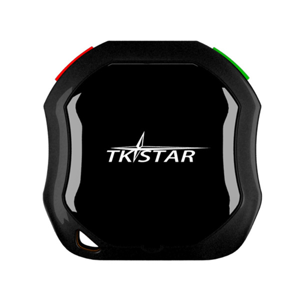 TKstar Waterproof Track Car Mini Tracking System GPS Tracker Person Alarm Dog Pet for Kids Elders Security four band 850 900 1800 1900mhz mini gps dog tracker waterproof with mobile phone track pets dogs kids