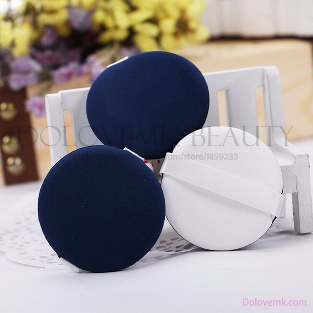adda5408464 2pcs/Bag Pro Beauty Essentials Cosmetic Sponge Makeup Puff Replacement  Compact Powder Puff for Concealer