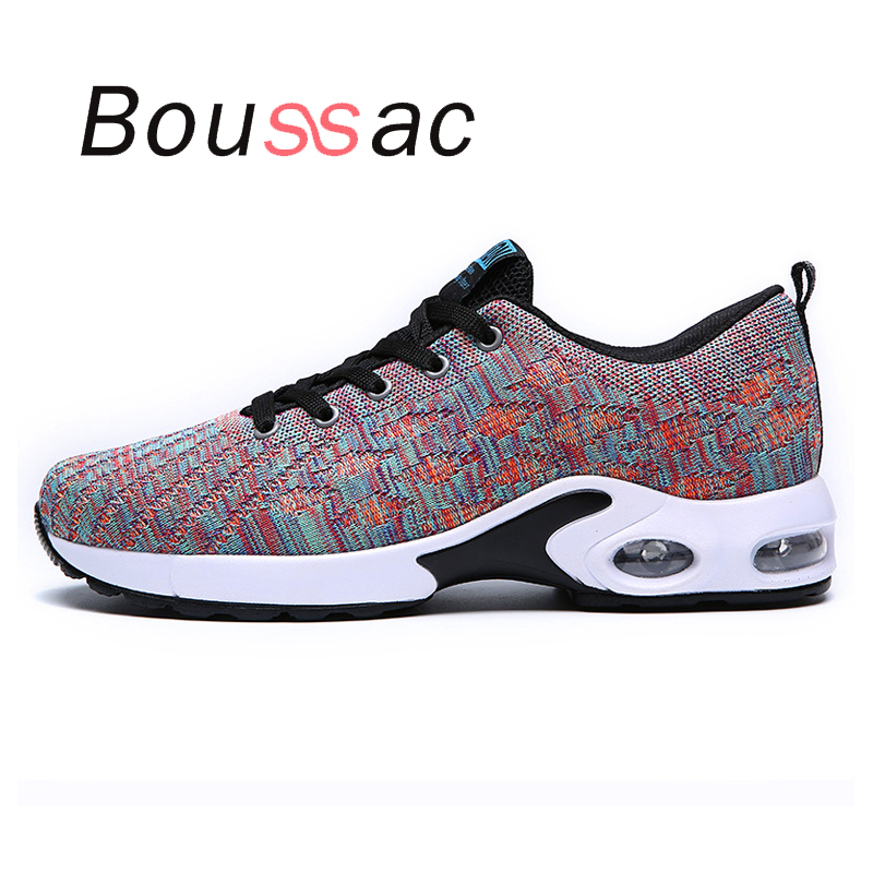 comfortable sneaker  air cushion breathable cushioning shoes sneaker 2018new  autumn winter  outdoor men  light jogging