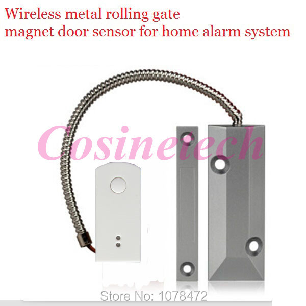 цены 868MHZ Wireless Rolling gate magnet Sensor,Garage Gates Door/window senser,detector for GSM PSTN Home Security Alarm System