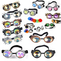 Óculos Steampunk Óculos Retro SteamPunk Soldagem Gótico Vitoriano Cosplay Óculos Voando LELINTA Eyewear Do Vintage do Dia Das Bruxas