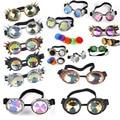 Steampunk Goggles Glasses Retro Welding SteamPunk Gothic Vitoriano Cosplay Goggles Flying LELINTA Eyewear Vintage Halloween