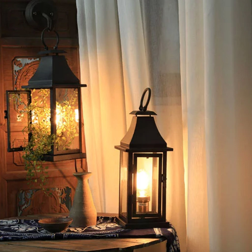 edison table lamp vintage home lighting. Double Use 1PC Wall Lights/Table Lamp Iron Made Vintage Home Lighting  Lantern Shape Edison T45H Bulbs Portable Decors Light-in Desk Lamps From Lights Edison Table Lamp Vintage Home Lighting D