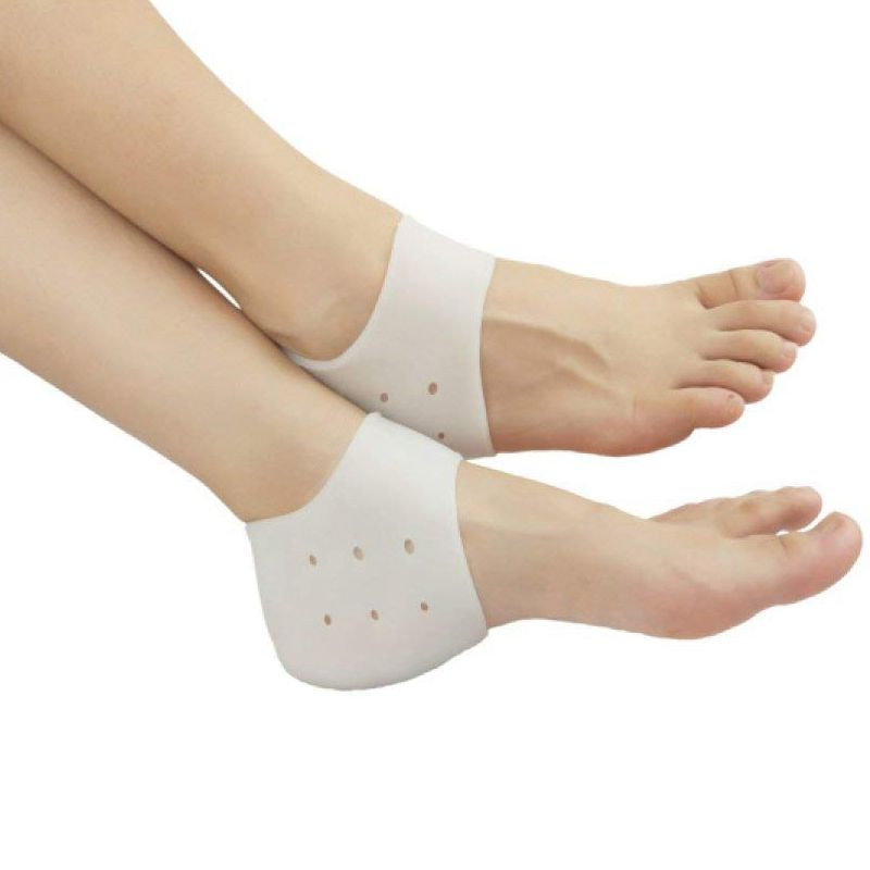 FGGS Heel Cups Plantar Fasciitis Inserts, Gel Heel Pads Cushion New Material (3 Pairs) Great for Heel Pain, Heal Dry Cracked H крем scholl cracked heel cream