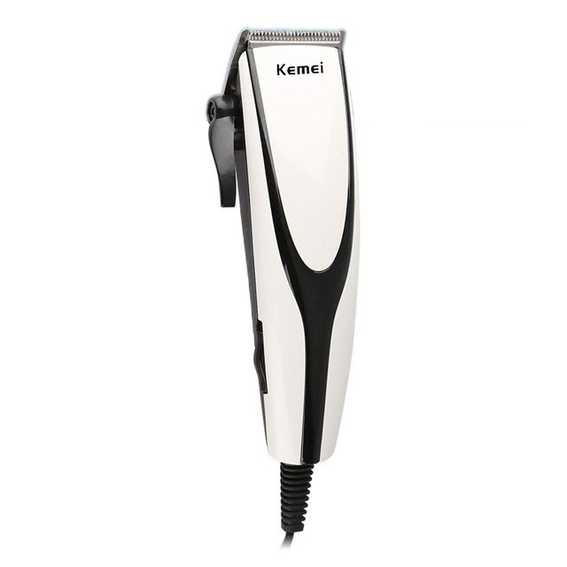 Kemei professional hair trimmer hairdresser haircut barber 10W clipper cutter hair cutting machine powerful men electric shaver