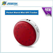 New Smallest Pocket Watch Mini GPS Tracking Pendant Locator for Kids Childs Pets Cats Dogs With Google Maps SOS Alarm GSM GPRS