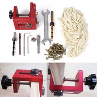 Carpenter Inclined Hole Machine Locator Doweling 3 In 1 Woodworking Drill Guide Puncher Joinery System