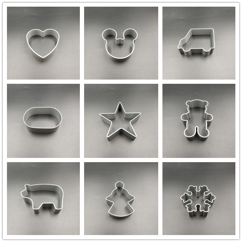Cookie Cutter Aluminum Alloy Mold  DIY Baking Cute Lovely Shape Cookie Molds Cake Kitchen Tools 1 Piece|Cookie Tools| |  - title=