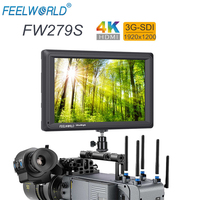 FEELWORLD FW279S 7 IPS 2200nits 3G SDI 4K HDMI Input Output Camera Field Monitor 1920X1200 DSLR LCD Monitor for Video Movie