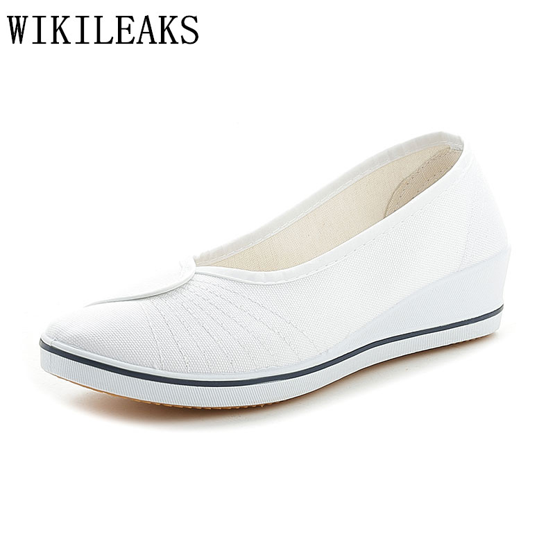 flat shoes women white platform nurse work shoes woman wedge ladies Canvas shoes sapato feminino zapatillas mujer casual shoes summer women shoes casual cutouts lace canvas shoes hollow floral breathable flat platform shoe ladies sapato feminino