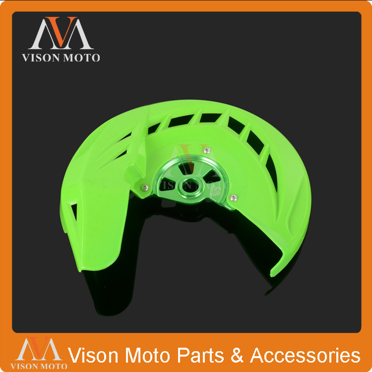 X-Brake Front Brake Disc Rotor Guard Cover Protector Protection For Kawasaki KX125 KX250 KXF250 KXF450 KLX450R Motorcycle