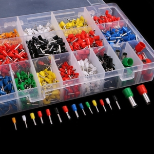 2120 Pcs Insulated Cord Pin End Terminal Bootlace Ferrules Kit Set Wire Copper Q02 Dropship