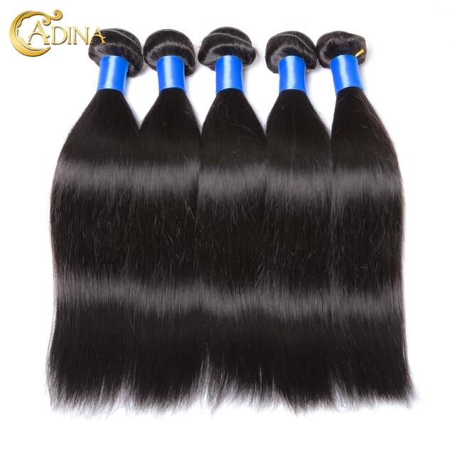 Brazilian Virgin Hair 10 Bundles Straight Adina Hair Products