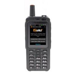 F40 Zello PTT портативная рация телефон сеть радио Wifi Радио Android 6,0 Bluetooth gps IP56 Водонепроницаемый двойной карты смартфон